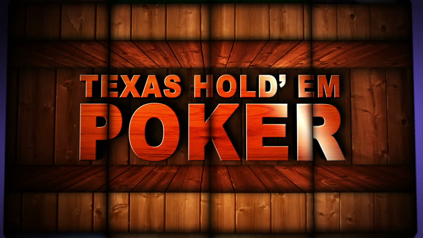 Rules of Texas Hold'em Poker