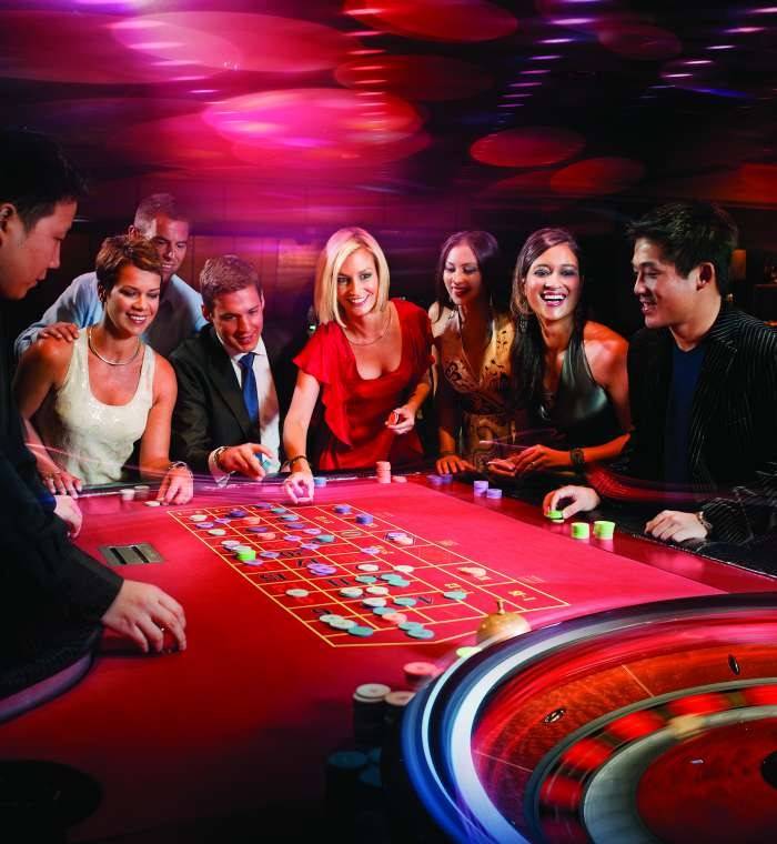Playing the baccarat game